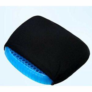 Coussin de refroidissement en nid d'abeille coussin de siège en gel glacé avec siège de Massage confortable antidérapant noir chaise de bureau soins de santé soulagement de la douleur