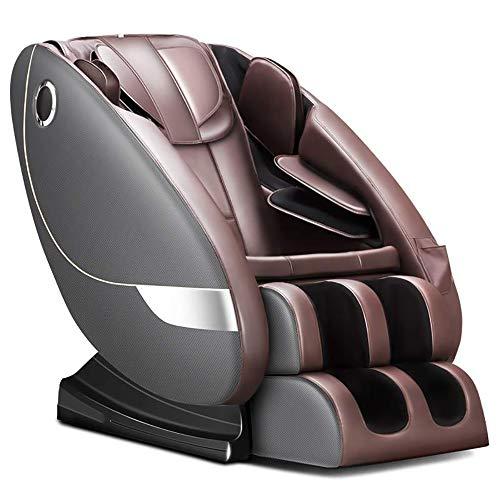LMEIL Fauteuil de Massage, Fauteuil de Massage zéro gravité, Chauffage électrique, Inclinaison complète du Corps, fauteuils de Massage intelligents, canapé de Massage Shiatsu, Haut-Parleur Bluetooth