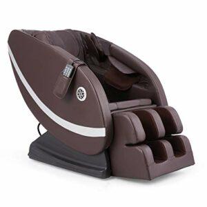VONLUCE Chaise Masseur Shiatsu, 100W Fauteuil de Massage Électrique, Chaise de Massage Fauteuil Relax Inclinable avec 12 Nœuds, Chaise Automatique Shiatsu pour Pétrissage avec Chauffage