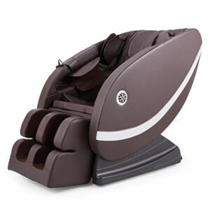VONLUCE Fauteuil de Massage Électrique, Chaise Masseur Shiatsu, Chaise de Massage avec Bluetooth, Fauteuil Inclinable avec 12 Nœuds, Chaise Automatique Shiatsu pour Corps Pétrissage avec Chauffage
