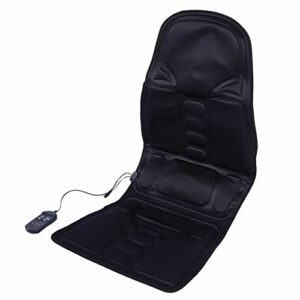 Coussin de massage – Auto Car Home Office Full-Body Neck Fauteuil de massage lombaire Relaxation Pad Seat Heat(EU Plug)