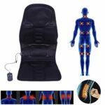 Coussin de massage – Auto Car Home Office Full-Body Neck Fauteuil de massage lombaire Relaxation Pad Seat Heat(EU Plug)