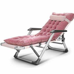FUFU Chaises longues Fauteuil inclinable pliant pour la pause-déjeuner Chaise portable avec fauteuil de massage, ajustement multifonctionnel à l'avant et à l'arrière 4 couleurs en option 178 * 67 * 25