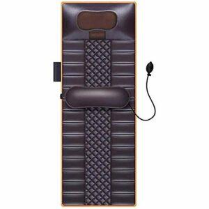 HANHJ Matelas De Massage Complet du Corps avec Chaleur Multifonctionnelle Thermothérapie Coussin Pliable Infrarouge Électrique Lit De Corps, Coussin De Massage Complet Corps Coussin Massage,Black