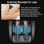 iRest Fauteuil massant avec contrôle vocal intelligent, massage de renversement, zéro gravité, bouton intelligent de sélection rapide des programmes de massage, rails SL, stretching Yoga (noir)