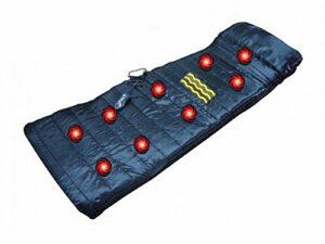 Matelas de massage électrique, 9modes, 4zones avec fonction chauffage