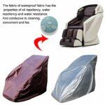 QOTSTEOS Housse de chaise de massage universelle étanche pour fauteuil de massage shiatsu 160 x 99 x 140 cm