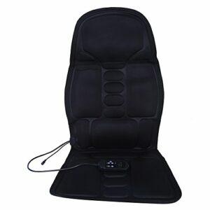 Coussin de siège de massage Appareil de massage Chaise De Massage Corporel Avec Chaleur Coussin De Coussin De Siège De Siège De Siège De Siège De Coussin Lombaire Pour Un Usage De Bureau à Domicile