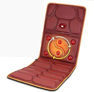 FEFCK Tapis De Massage Chauffant Électrique Pliable Body Shiatsu Matelas De Massage Soulager La Douleur Musculaire pour Les Personnes Âgées Et Les Personnes Âgées