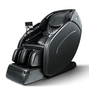 SUFUL M8 Chaise de massage Shiatsu – Siège de massage pour tout le corps avec fonction chauffante USB, Bluetooth, cadeau de fête des mères