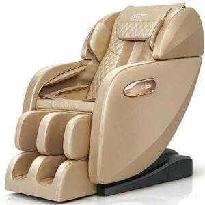 ZHJIUXING ZH Fauteuil de massage inclinable en cuir Chaise de cinéma Chaise de massage à bascule pivotante chauffante, B