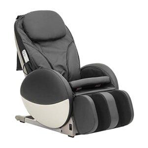 Fauteuil de Massage Commercial, Petites Dimensions, 7 Massages et pressotothérapie contenus Dimensions – Fauteuil d'énergie-S-Bla, éco-Cuir Noir