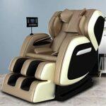 ABCD Fauteuil de massage électrique pour la maison – Sans gravité – Avec Bluetooth – Multifonctionnel – Inclinable zéro gravité