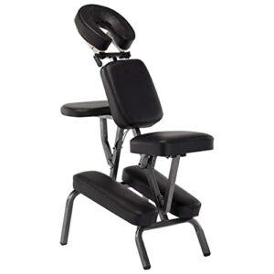 Lifcasual Fauteuil de massage Similicuir Noir 122x81x48 cm