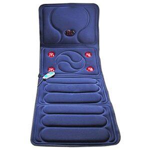 Xin Yan Tapis De Massage Chauffant Complet du Corps électrique Matelas Massant Chauffant Et Vibration Multifonctionnel Coussin De Massage pour Tout Le Corp Relaxation des Maux Musculaires