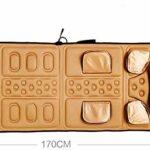ZOUSHUAIDEDIAN Back Massager avec Coussin de siège de massage des tissus à l'air et de tissus de chaleur for la maison ou la chaise de bureau, le masseur de corps électrique contribue à soulager le st
