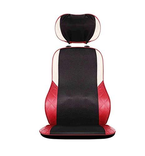 ZOUSHUAIDEDIAN Shiatsu Back Massager for la Chaise Coussin de siège de Massage en pétrissage avec Chaleur, Tampon de Chaise de Massage, Masseur de Corps électrique for Le soulagement des maux de Dos,